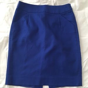 J. Crew pencil skirt, sz 4